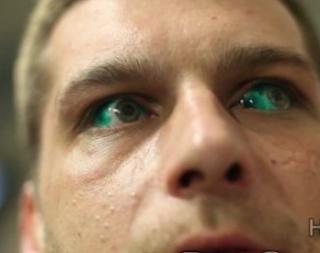 Tatuado de ojos