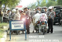 Operasi Patuh Jaya 2011 | Razia Lalu Lintas