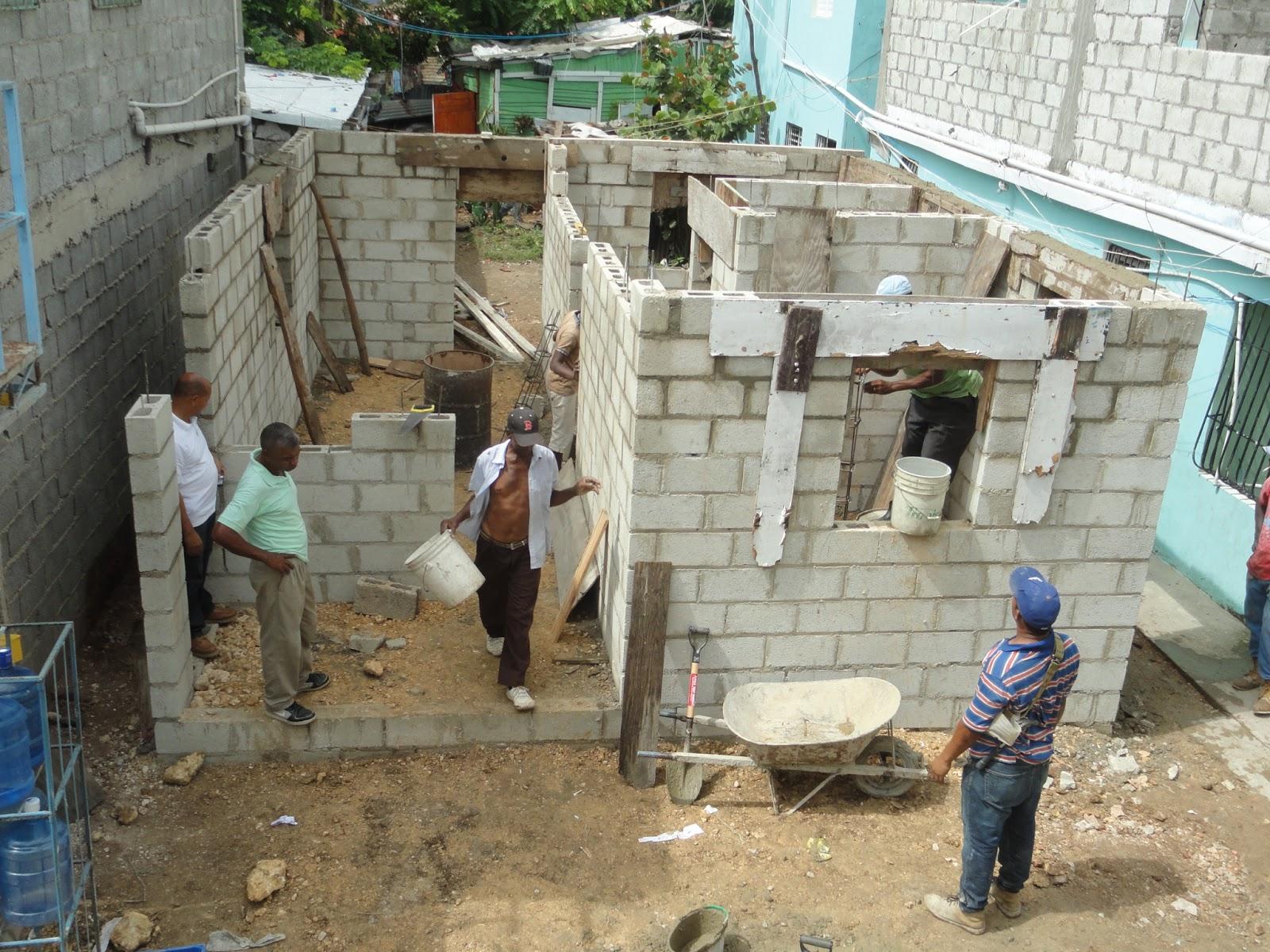 Gobernacion s p m avansan los trabajos de la construccion de la casa en la punta de pescadores - Construccion de una casa ...