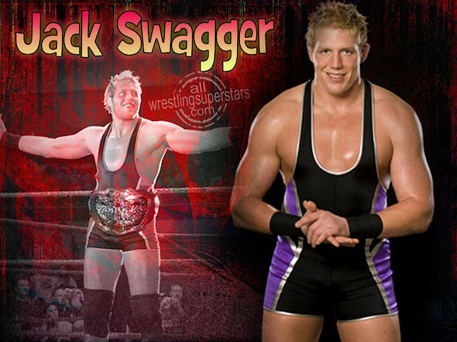 Jack Swagger smiling