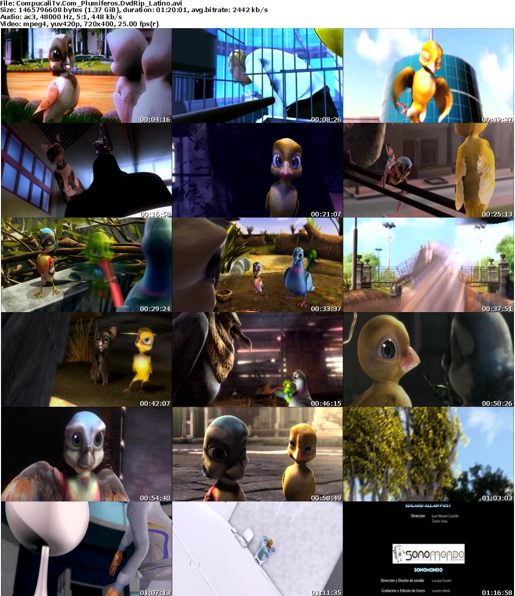 Capturas Plumíferos [Aventuras voladoras] DVDRip [Español Latino] Descargar