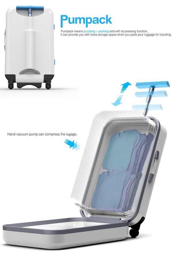 Vacuum Suitcase