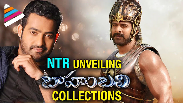 Jr.NTR Unveiling Baahubali Collections Tsunami | Tribute to SS Rajamouli