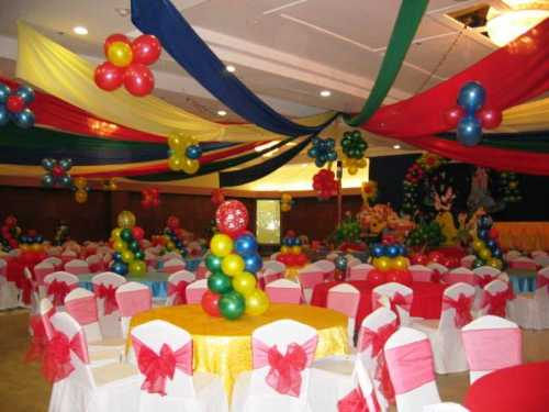 Birthday decorations birthday decoration ideas for Balloon decoration for kids birthday party