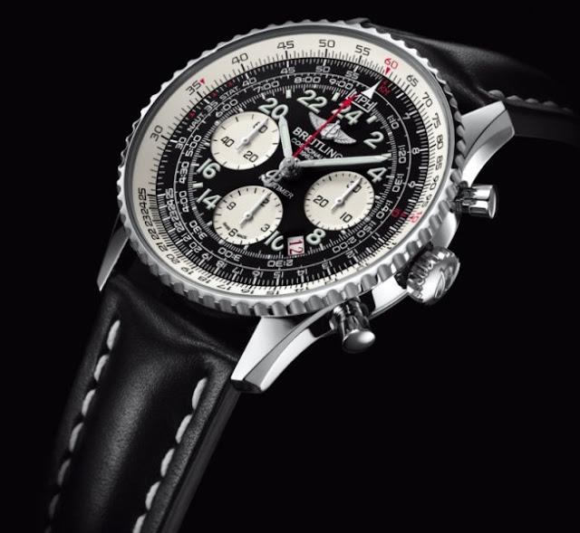 Breitling Navitimer Cosmonaute Blacksteel Watch | Breitling Navitimer Cosmonaute | Breitling Navitimer Cosmonaute Price | Navitimer Cosmonaute .