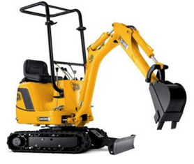 Mini Digger Hire Cornwall DJ Morford Redruth 01209 821726 or 07742 751524
