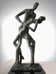 Escultura de Lila Oliva.