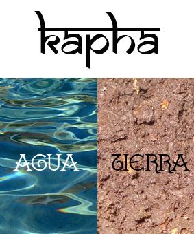 Kapha-Agua-Tierra