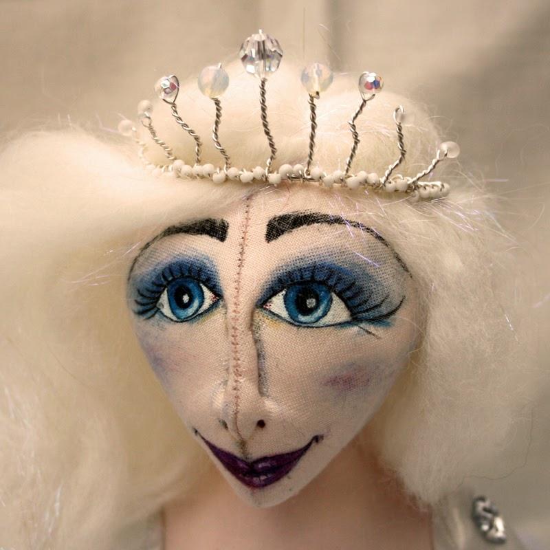 ice queen art doll