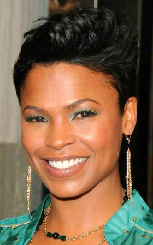 Jewelry Fashion And Celebrities Black Women Short Hair