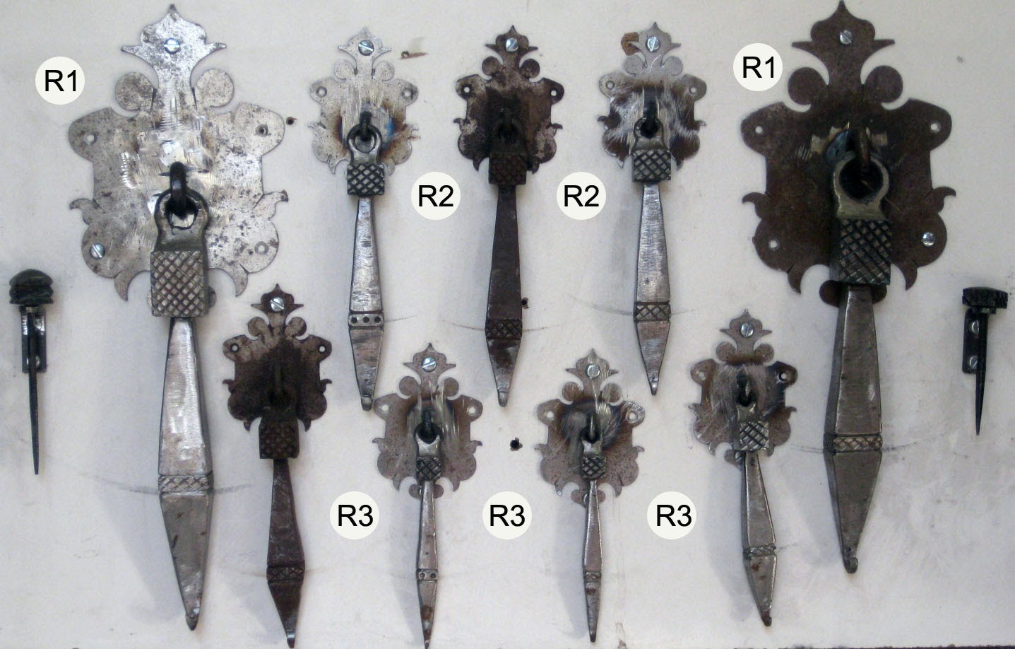 Herrajes artesanales de forja - Herrajes de forja ...