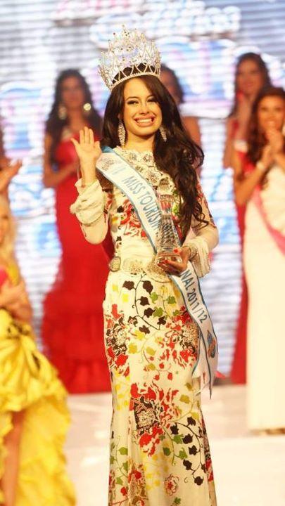 Aileen Gabriella,Miss Tourism International 2011 winner