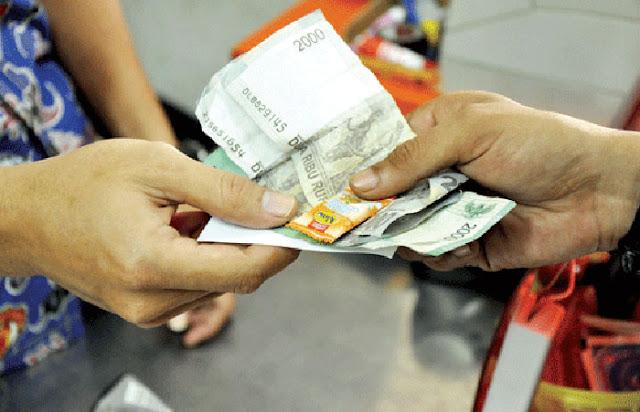 Berikan Uang Kembalian Berupa Permen Terancam Pidana
