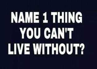 name that 1 thing
