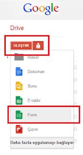 Google Docs ile Anket Oluşturmak