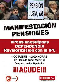 Manifestación pensiones