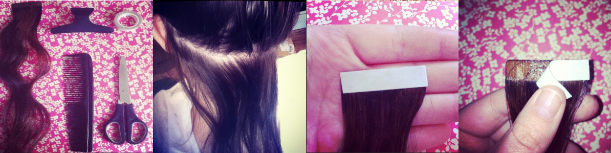 What Shannon Did Tape In Hair Extensions Self Application Tutorial
