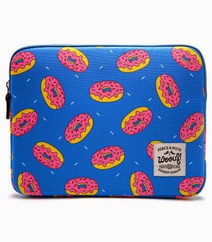 pochette ipad woouf donuts