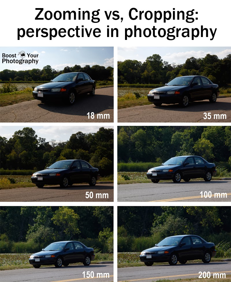 Zooming Vs. Cropping: perspective in photography | Boost Your Photography