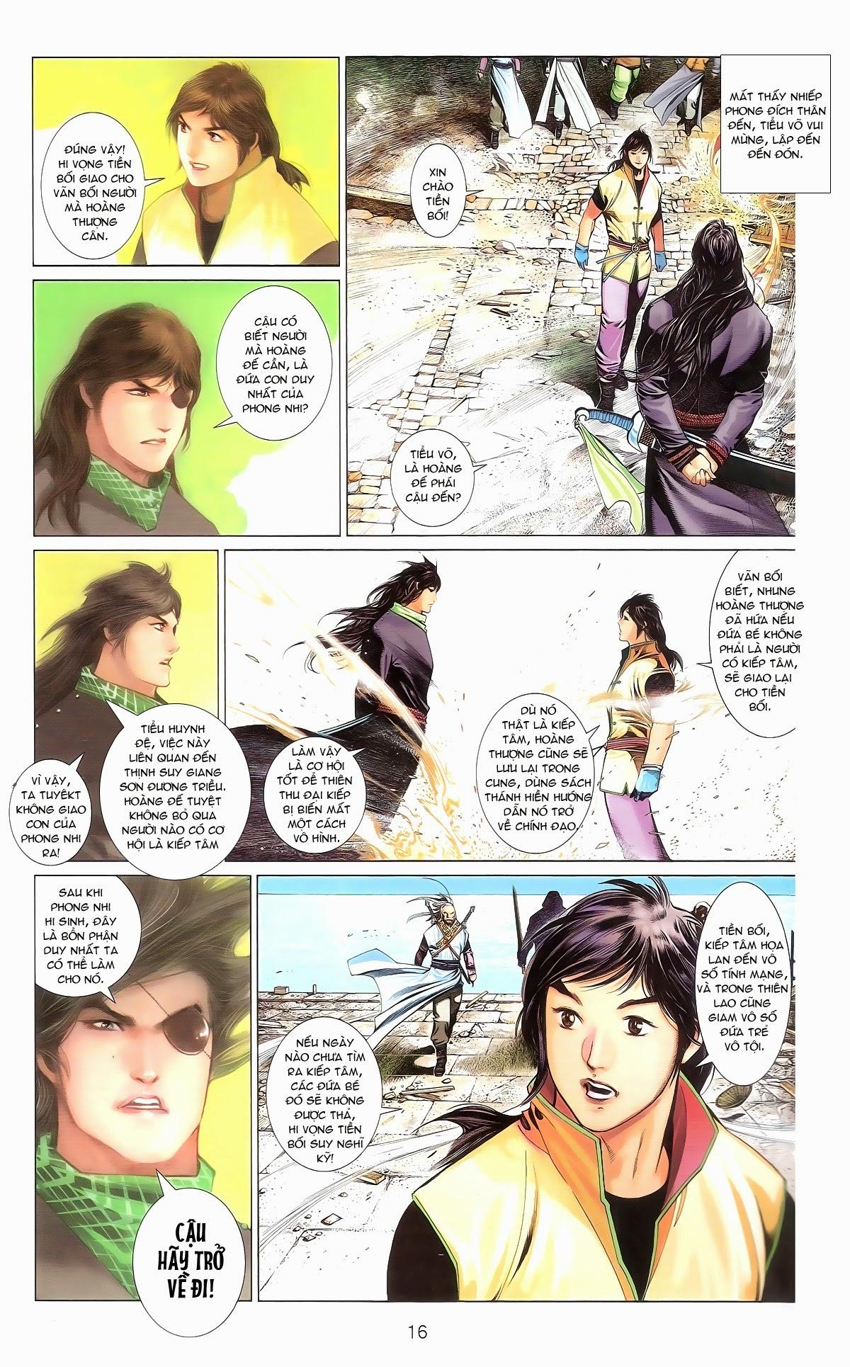 Phong Vân chap 674 – End Trang 18 - Mangak.info
