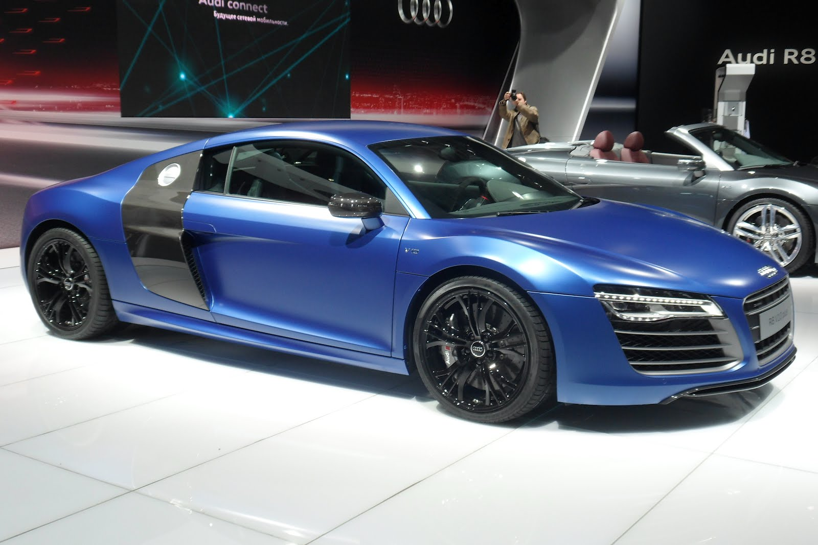 German Cars Info Moscow International Motor Show Audi R8