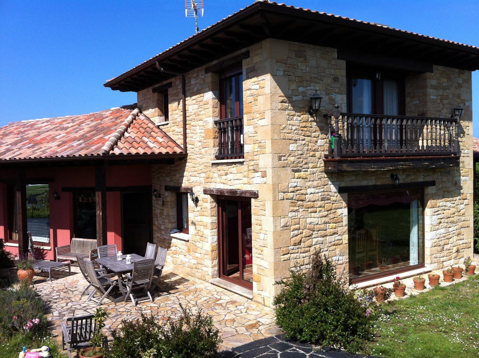 Chalet en venta o alquiler en quintueles villaviciosa - Casa tradicional asturiana ...