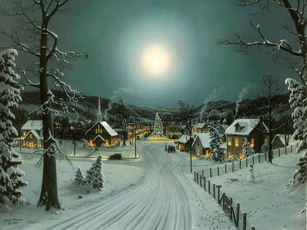 HD Wallpapers Snow Christmas
