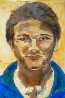 eerste opzet 2e portret (Pieter)