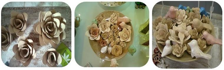 Flores e Passaros