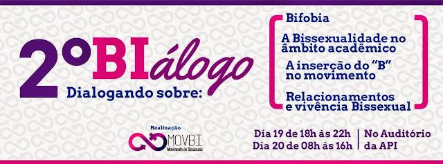 2º Biálogo dialogando sobre bissexualidade
