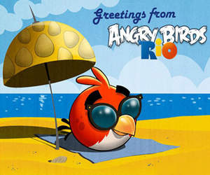 Angry Bird Rio Free For PC