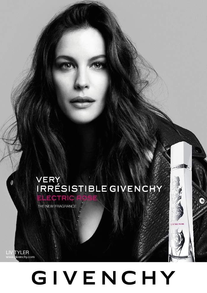 Liv Tyler Poses For Very Irresistible Givenchy Electric