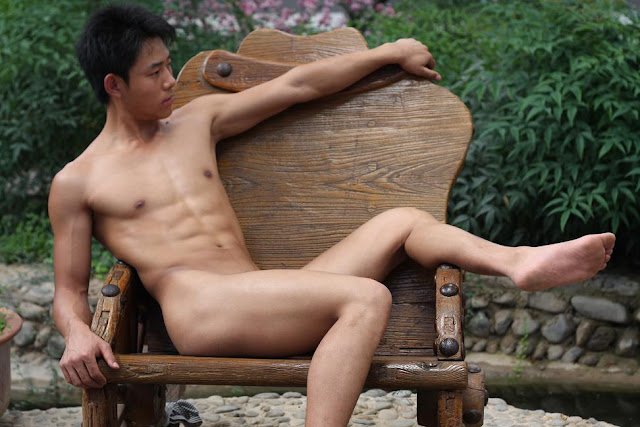 Chinese Nude Male Models Naked Gays