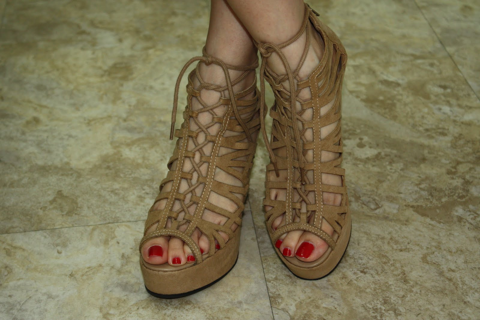 i Got These Wedges From H&m a