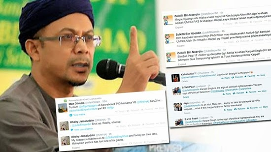 Zulkifli Noordin the depth of political satanism