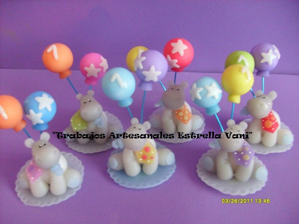 """TRABAJOS ARTESANALES """"ESTRELLA VANI"""": Hipopótamos bebés para un ..."""