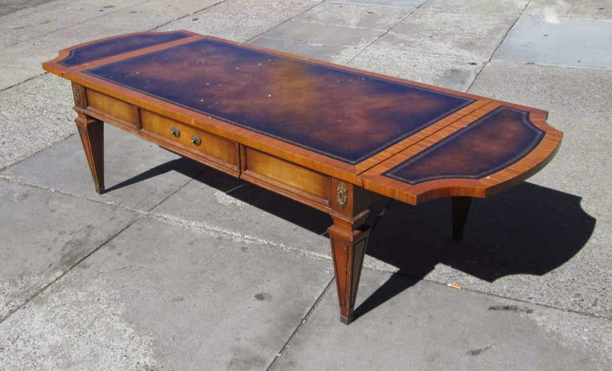 Uhuru Furniture Collectibles Sold Drop Leaf Coffee Table 45