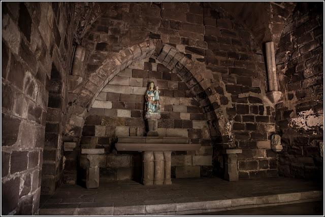 Castillo de Escornalbou, sala capitular del convento