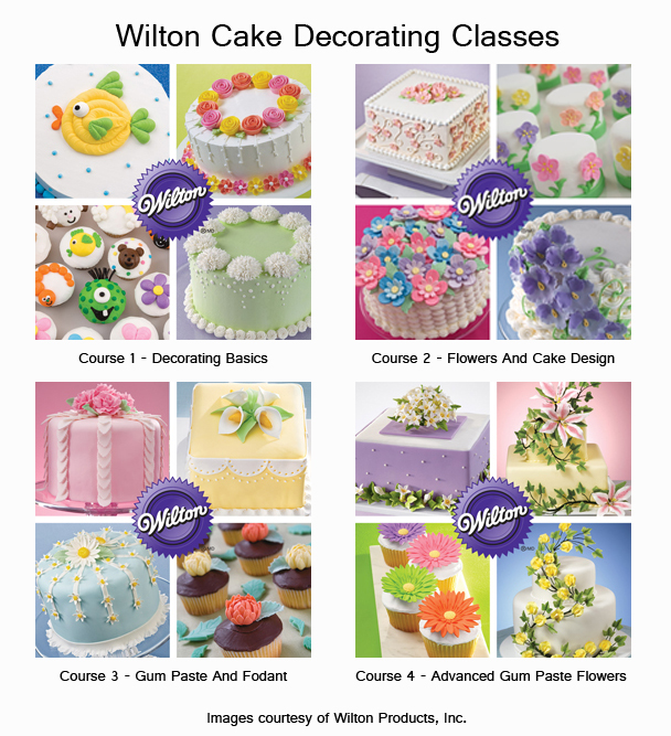 CakesByNisha: Wilton Cake Decorating Classes