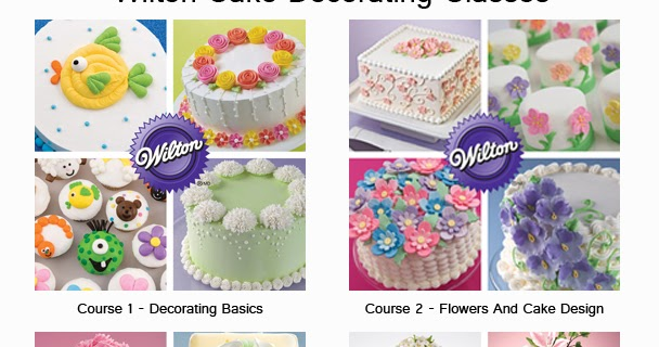 Cake Decorating Classes Az : CakesByNisha: Wilton Cake Decorating Classes