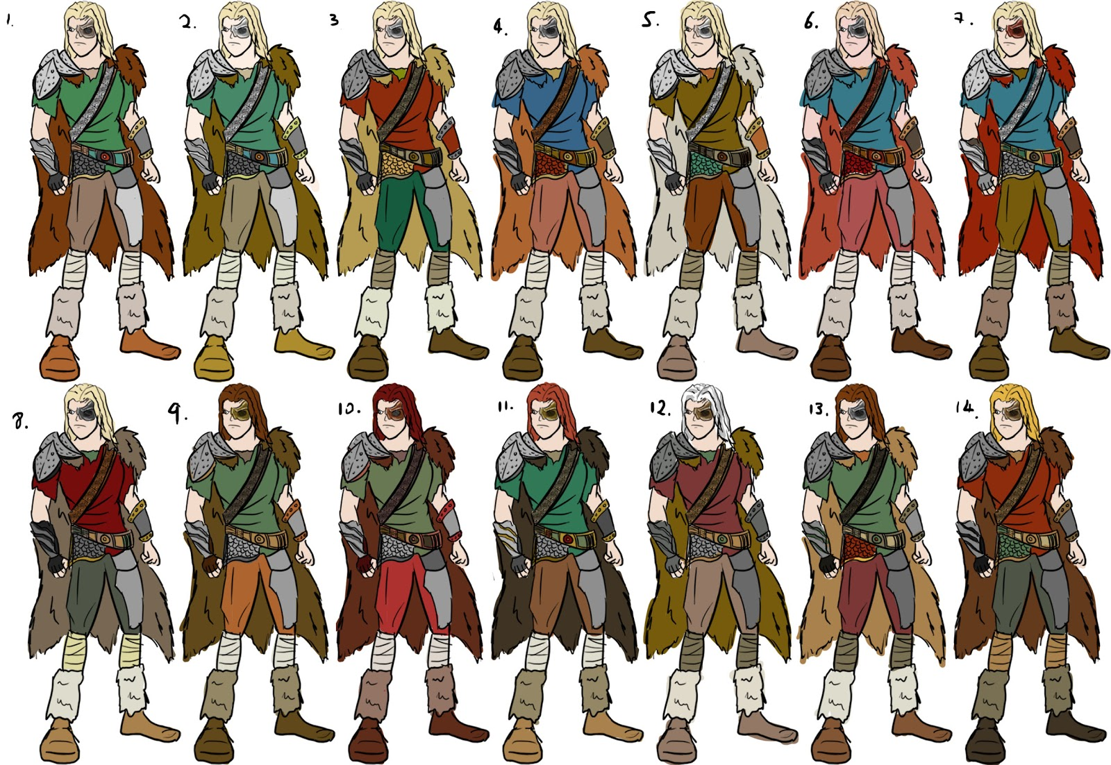 Character Design Quiz : Joey ku december