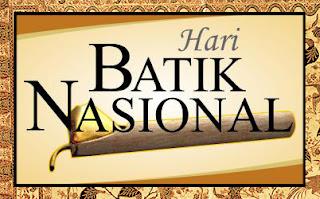 2 Oktober Hari Batik Nasional