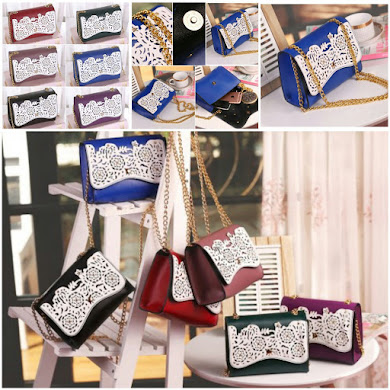 JESSICA MINKOFF BAG - BLACK , BLUE , GREEN , LIGHT PURPLE , PUPLE , RED