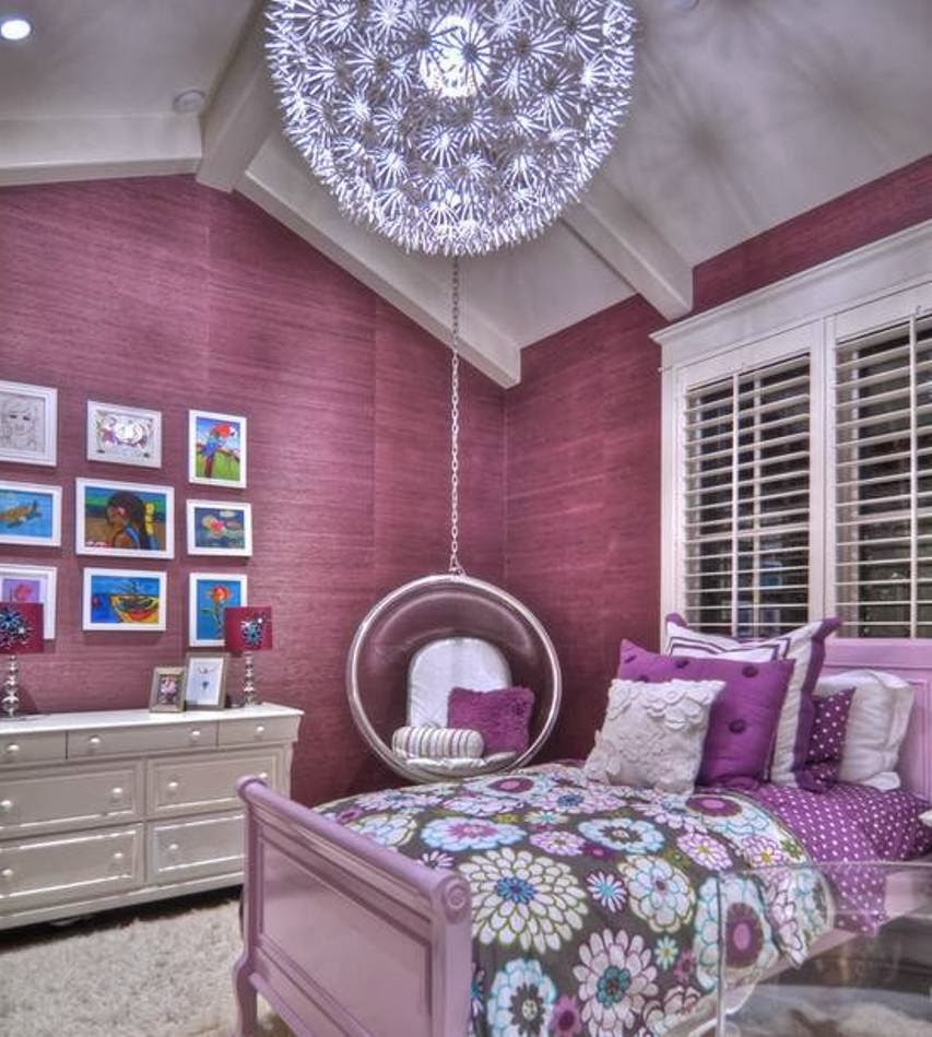 Blue and purple bedroom post labeled designs teenage girls ideas brown decorating best - Purple room for girls ...