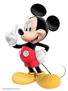 Imagen grande de Mickey para imprimir
