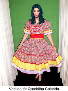 fotos de imagens de Vestidos Caipiras