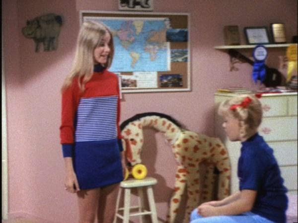 Brady bunch maureen mccormick mini skirt panty