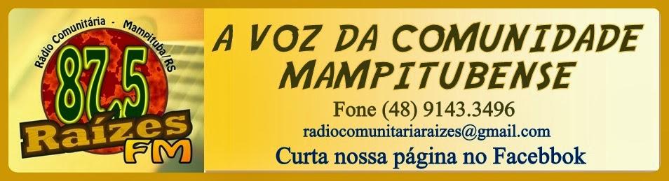 Rádio Comunitária Raizes 87,5 FM