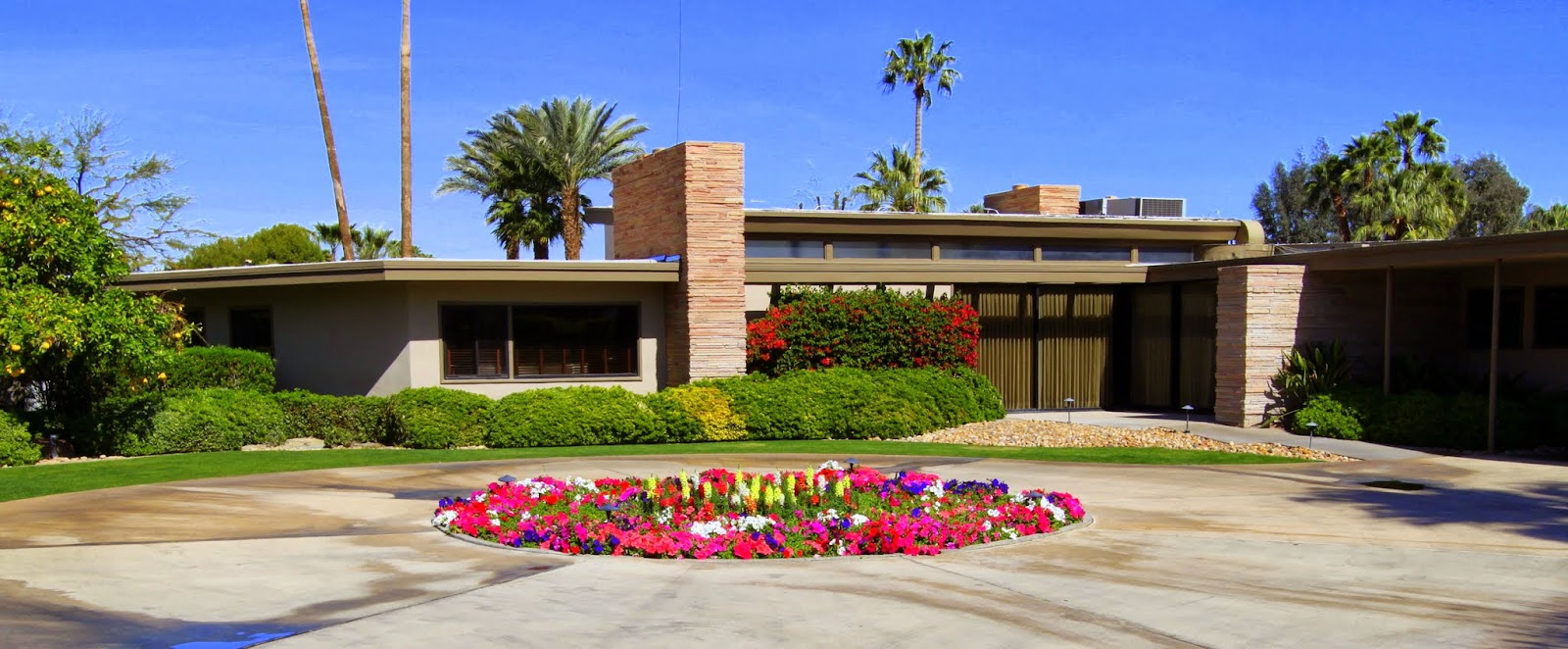Walking Tour, Vista Las Palmas, Palm Springs, Modernism Week 2014, Sinatra Twin Palms