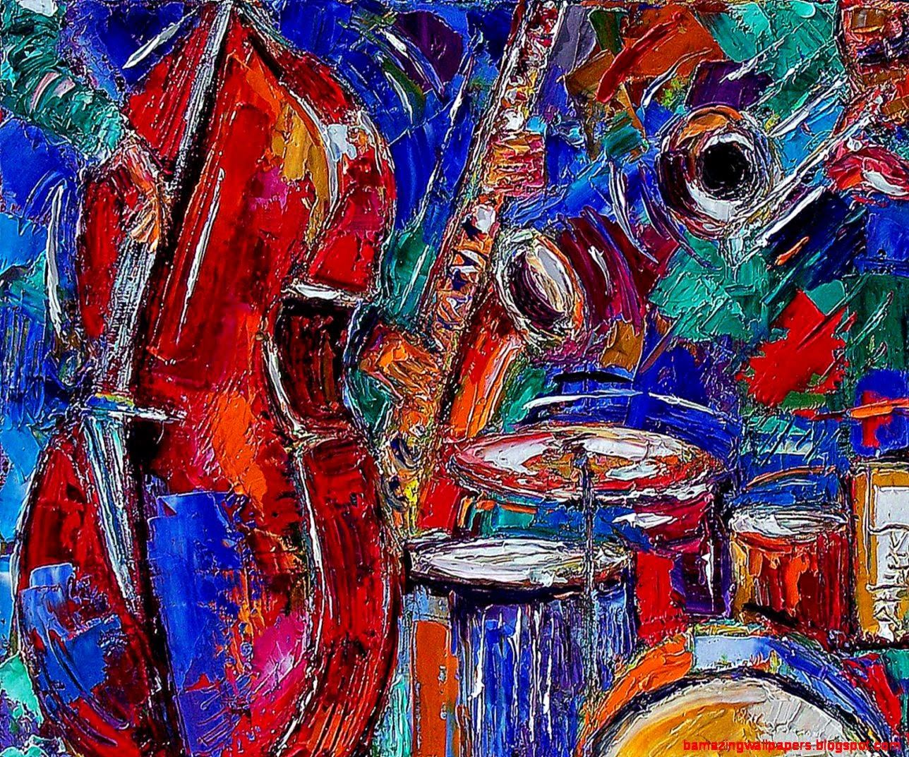 Abstract Art Paintings Music Pictures 5 HD Wallpapers  aduphoto